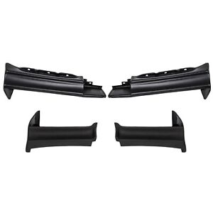 Full 4pc Bumper Filler Set For Buick National t type regal 1981 1987