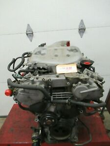 Engine Motor 3 5l 6 Cylinder Car Vin C A 4th Digit For Infiniti G35 Awd M35 Fx35