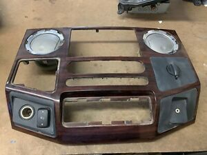 2008 2010 Ford F250 F350 Super Duty Dash Radio Trim Bezel A C Vents Woodgrain