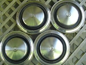 70 71 72 73 74 75 Chrysler Imperial Vintage Hubcaps Wheel Covers Center Caps