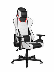Highback Office Gaming Chair Ergonomic Recliner Leather Computer Desk Task Chair