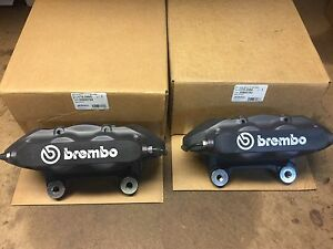 New 2008 10 Chevy Cobalt Hhr Ss Lnf Turbo Front Brembo Calipers 2590