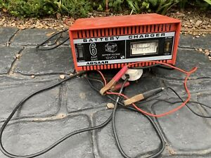 Classic Car Garage Workshop Clearance Absaar 6 Amp 12 Volt Battery Charger Derby