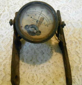 Antique Hoyt Meter Amperes Meter Vintage Electrical