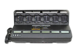 Motorola Impres Pmpn4134a replaced Wpln4108br Multi unit Bank Charger Xts