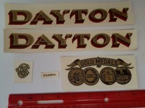 5 Piece Candy Scale Decal Set Dayton Gold Medals Antique Scale Coin 5ds
