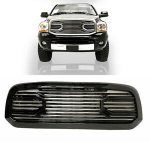 For 2010 2017 Dodge Ram 2500 3500 Front Grill Grill Big Horn Laramie Gloss Black