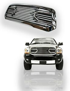 2013 2017 Dodge Ram 1500 Big Horn Front Grill Chrome Grille Replacement
