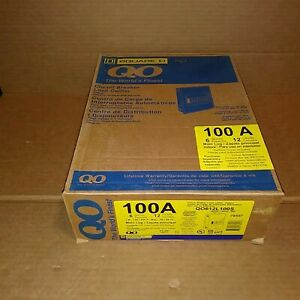 Square D Qo612l100s 100 Amp Single Phase Indoor Load Center New In Box