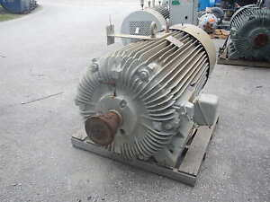 500 Hp Reliance Ac Electric Motor 1200 Rpm Fr 9450z Tefc 4160 V Eok