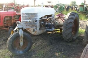 Silver King Tractor With Log Saw Attachment