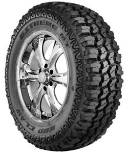 Lt245 75r16 Mud Claw Extreme M T 120 116q Load E 10ply Set Of 4