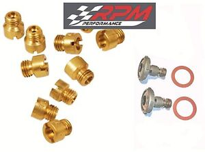 Holley Carburetor Main Jets Kit 50 109 1 4 32 Any Size 10 Pack 2 Power Valves