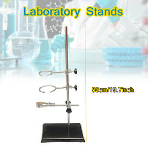 Laboratory Stand Support Lab Clamp Flask Clamp For Condenser Retort 50cm 19 68in