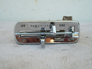 Vintage Ford Heater Defrost Temp Control Face Plate