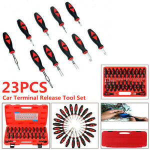 23pcs Universal Car Terminal Release Tool Set Connector Remover Car Accessories