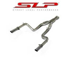2011 2014 Dodge Charger 5 7l Slp D31040 Loudmouth Cat Back Exhaust System