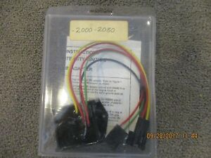 Crane 2000 2030 Tbi Adapter For 89 Later Gm With Crane Hi2000 Ignition