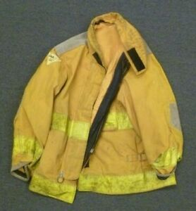 Lot Of 6 Janesville Firefighter Turnout Gear Jackets Coats With No Liners Lot 2