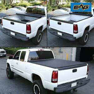 Eag Fit For 09 15 Dodge Ram 1500 2500 3500 8ft 96 long Bed Roll up Tonneau Cover