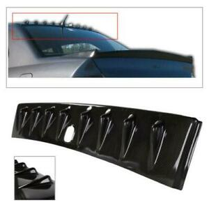 For Mitsubishi Lancer Evo Carbon Style Vortex Shark Fin Rear Roof Spoiler Wing