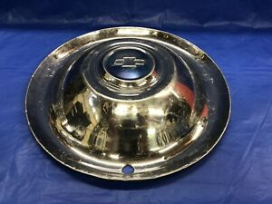 Very Rare Vintage 1954 55 Chevrolet 16 Hubcap Half Ton Truck Good Condition