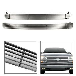For 1999 2002 Chevy Silverado 1500 Horizontal Billet Grille Grill Insert