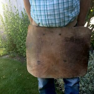 Blacksmith Lumberman Cowhide Double Leather Waist Apron Up To 41 Around