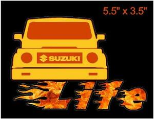 2 Suzuki Samurai Sticker Decals Graphic Calcomania Pack Of Two 2