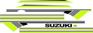 Suzuki Samurai Decals Lines Stickers Calcomanias Graficas Green Gray
