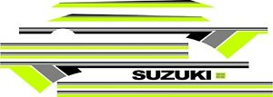 Suzuki Samurai Decals Lines Stickers Calcomanias Graficas Green Gray Black 3m