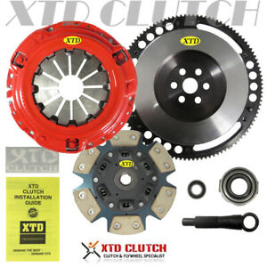 Xtd Stage 3 Clutch Prolite Flywheel Kit Civic D16z6 D16y7 D16y8 D17a1 D17a2