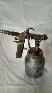 Vintage Devilbiss Gds 502 Pressure Feed Spray Gun