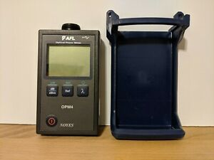 Afl Noyes Opm4 2d date 2016 Fiber Optic Power Meter Opm4 Free Shipping