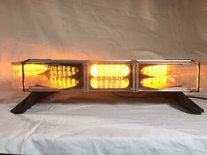 Refurb Whelen Freedom Mini 23 Lightbar New Lenses Amber
