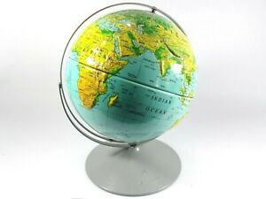 Nystrom Sculptural Relief 16 Inch World Globe School Edition Map 39 47 M23 2