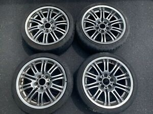 Oem Bwm E46 M3 Wheels With Tires Set Rare Original Luxury Car Parts Make Offer
