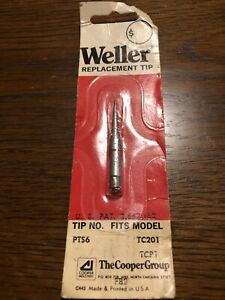 Replacement Industrial Soldering Tip Pts6 Weller Tc201 Tcp1