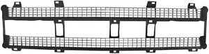 Plastic Inner Grill 1969 1970 Chevy Pickup Truck Black Silver