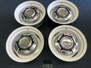 1967 72 87 Chevy Truck C10 6 Lug 15x8 Gm Original Kelsey Hayes Wheels