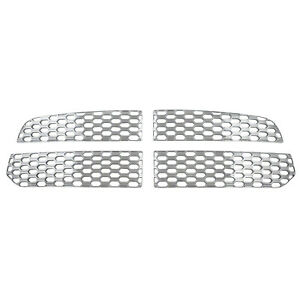 2013 2017 Dodge Ram 1500 Chrome Grill Grille Overlay Inserts