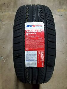 205 50zr17 Gt Radial Champiro Uhp As 93w Xl M s set Of 4