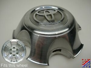 Genuine Factory Oem Toyota Tacoma Machined Wheel Center Hub Cap 42603 ad070