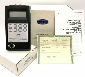 Vwr Scientific Traceable 23226 505 Digital Conductivity Salinity Tds Ppm Meter