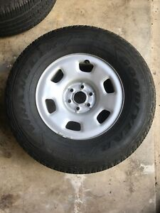 Used 16 Inch Rims 6 Lug Chevy And Tires 265 70r16 Under 10 000 Miles