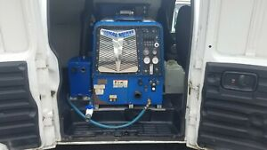 Carpet Cleaning Van 2008 Chevy Express 3500 With Blue Line Thermal Wave