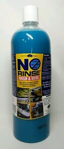 No Rinse Wash And Shine Optinum 32 Oz Clean And Protect Safe For Any Vehicle
