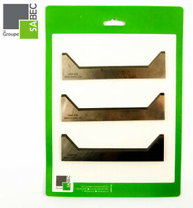 New Moulding Knives Kit Of 3 Back Relief 6 0 Woodmaster Compatible 1005
