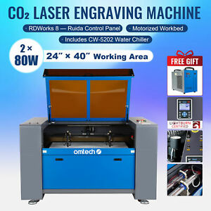 Upgraded Co2 Laser Engraver Cutter 80w 28 x20 Cutting Engraving Marking Machine