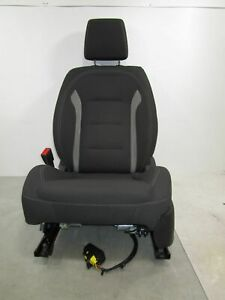 16 17 18 19 Chevrolet Camaro Lh Driver Front Cloth Electric Bucket Seat Oem